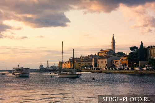 Rovinj  Owing the legacy of the rich history and particular location, Rovinj is one of the most attractive and most beautiful towns on the Mediterranean.