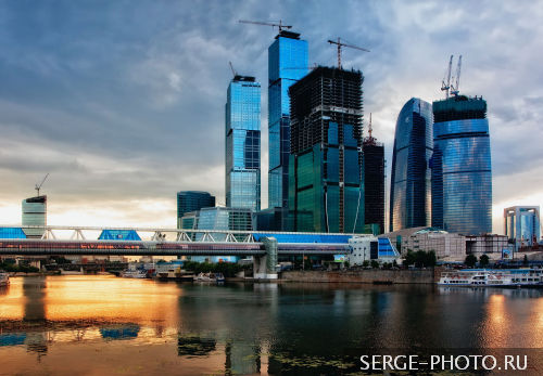 Moscow City  Moscow International Business Center, also referred to as Moscow-City is a commercial district of central Moscow. Located near the Third Ring Road in Presnensky District of western Moscow, the Moscow-City area is currently under development.