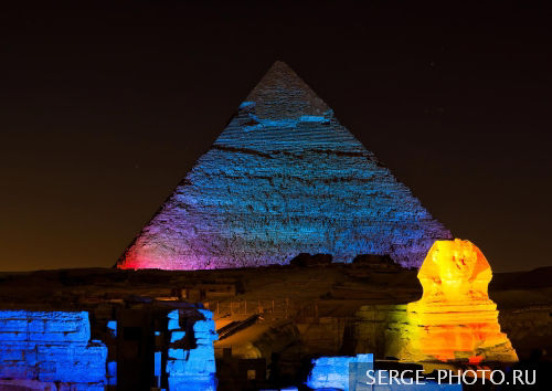 Giza by Night